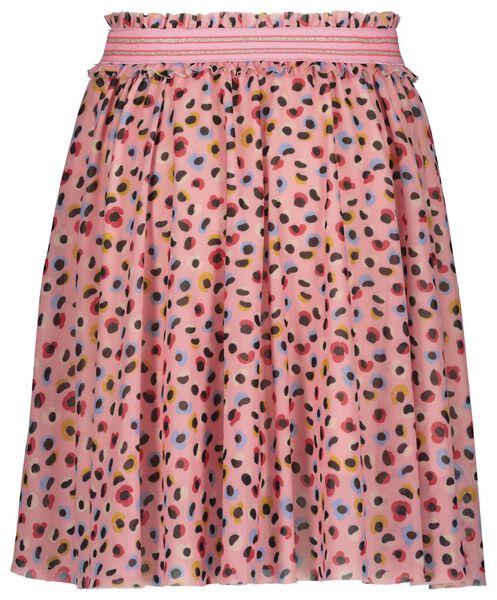 kinderrok met tule roze roze - 1000022392 - HEMA