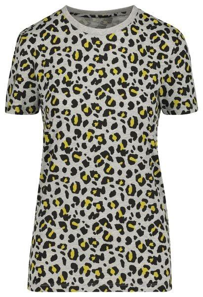 t-shirt voor volwassenen - mini-me grijs M - 36225752 - HEMA