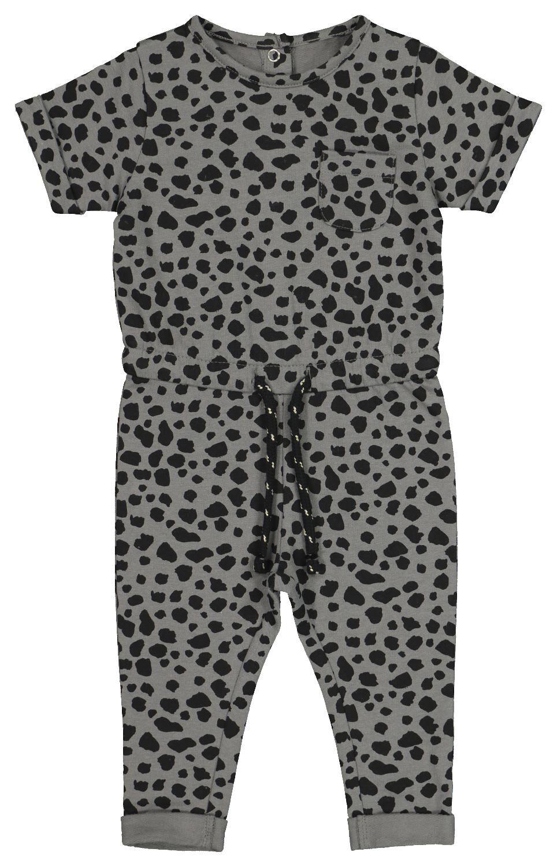 HEMA Baby Jumpsuit Grijs (grijs)