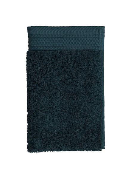 handdoeken - hotelkwaliteit donkergroen donkergroen - 1000015163 - HEMA