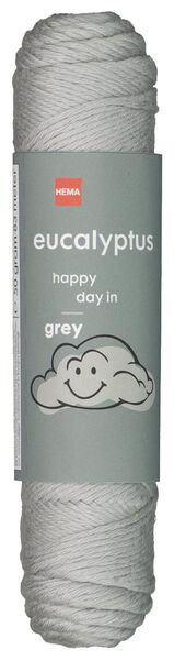 brei en haakgaren eucalyptus 50gr/83m grijs grijs eucalyptus - 1400206 - HEMA
