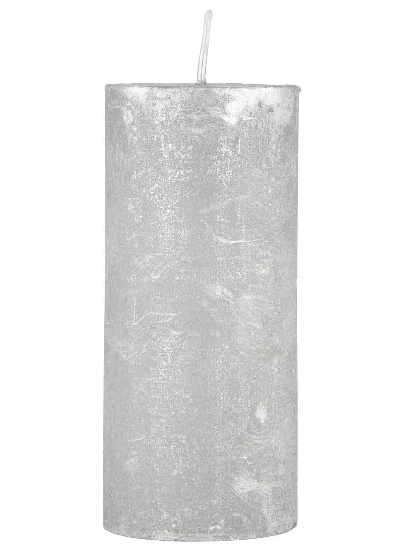 HEMA Rustieke Kaars Zilver (zilver)
