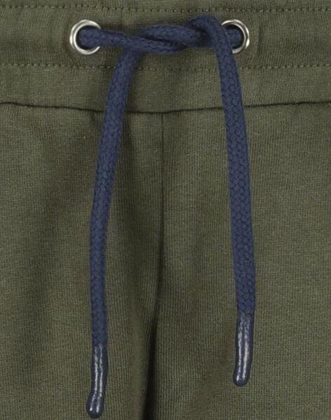 kinder sweatbroek groen 110/116 - 30747172 - HEMA