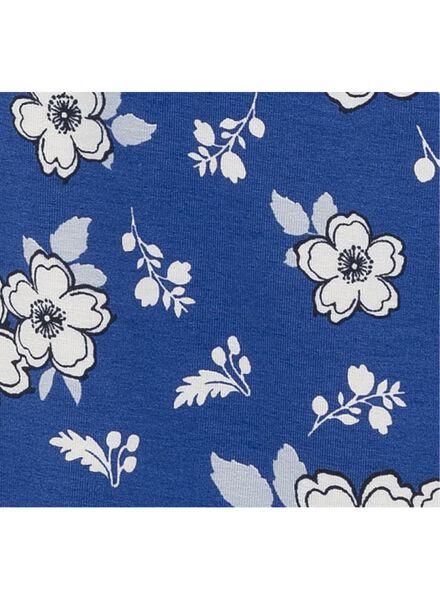dames t-shirt kobaltblauw kobaltblauw - 1000008634 - HEMA