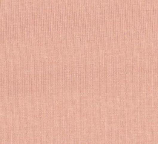 romper biologisch katoen stretch zalmroze zalmroze - 1000017801 - HEMA