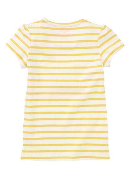 kinder t-shirt geel - 1000007459 - HEMA