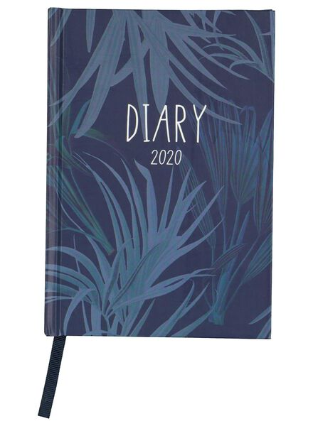 agenda 2020 - 17.7 x 12.3 cm - meertalig - 14600243 - HEMA