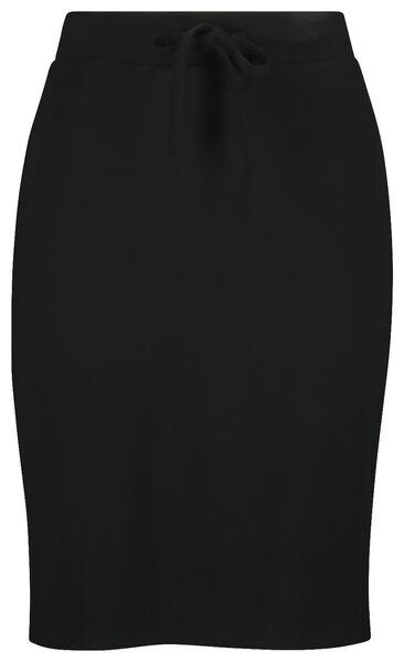 damesrok zwart zwart - 1000019219 - HEMA