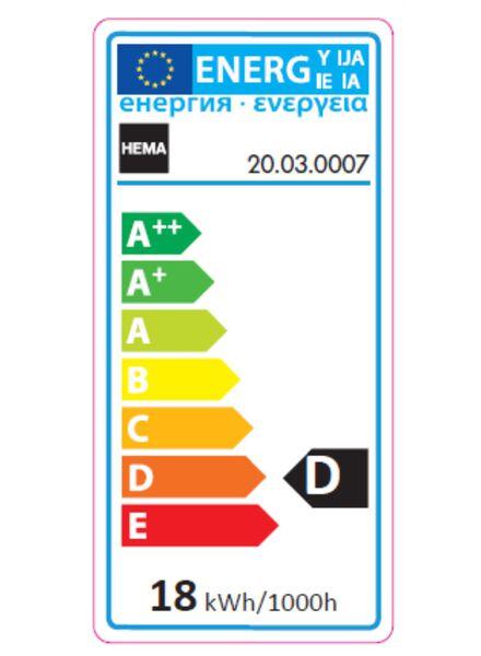 besparende kogel gloeilamp 23w - kleine fitting - 20030007 - HEMA