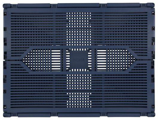 Klapkrat letterbord recycled 30x40x17 blauw