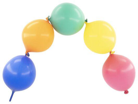 doorknoopballonnen 25 cm - 10 stuks - 14200306 - HEMA