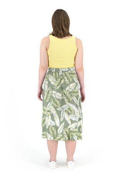 damessinglet biologisch katoen geel - 1000019353 - HEMA