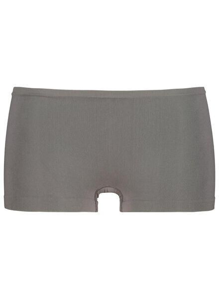 damesboxer naadloos micro grijs grijs - 1000015697 - HEMA