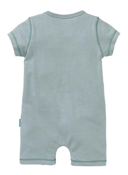 new born jumpsuit blauw blauw - 1000005444 - HEMA
