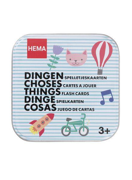 spelletjeskaarten dingen - 15110196 - HEMA