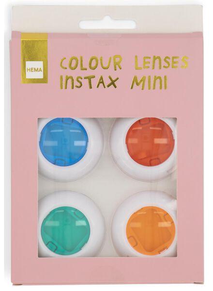 gekleurde lenzen Instax Mini - 4 stuks - 60300524 - HEMA