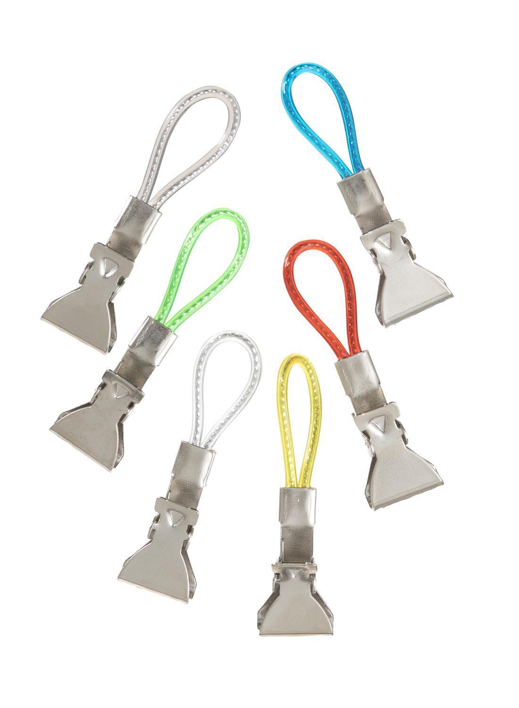HEMA Theedoek Clips - 1.5 X 5.5 - Gekleurd (multicolor)