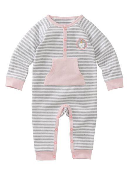 newborn jumpsuit roze roze - 1000005634 - HEMA