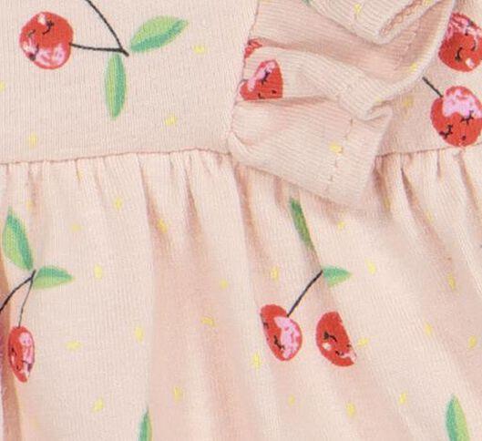 newborn romperjurk roze roze - 1000019271 - HEMA