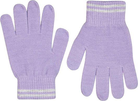 kinderhandschoen gebreid - 2 paar roze roze - 1000025236 - HEMA
