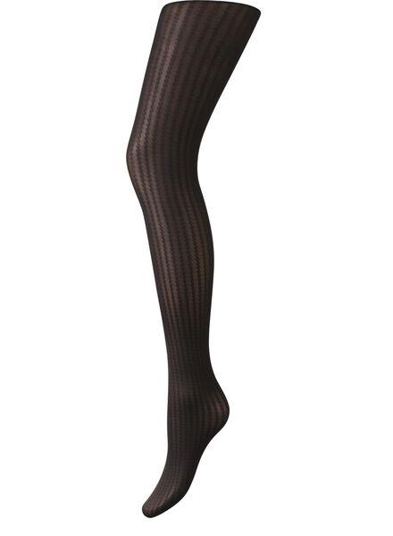 panty fashion zwart zwart - 1000017270 - HEMA