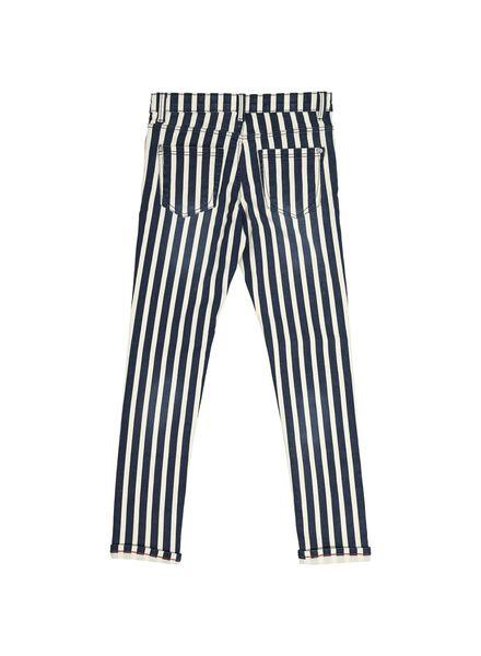 kinder jeans skinny fit donkerblauw donkerblauw - 1000014187 - HEMA