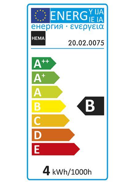 LED lamp 4W - 100 lm - edison - titanium - 20020075 - HEMA