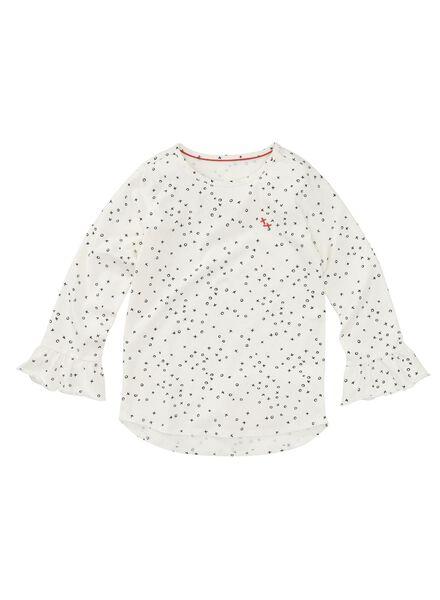 kinder t-shirt gebroken wit gebroken wit - 1000008471 - HEMA
