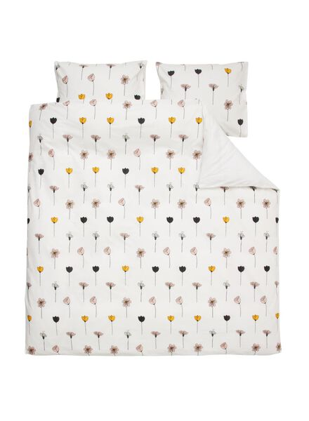 soft cotton dekbedovertrek 200 x 200/220 cm - 5700174 - HEMA