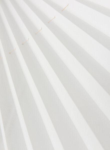 plisségordijn transparant 20 mm - 7430027 - HEMA