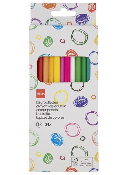 kleurpotloden - 24 stuks - 15900040 - HEMA