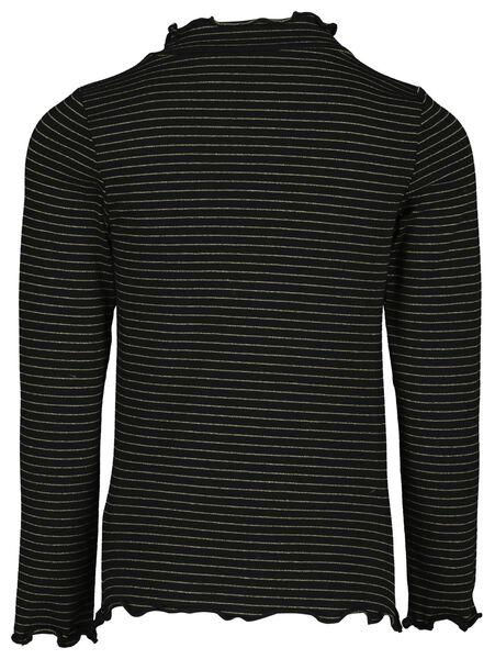 kinder t-shirt zwart zwart - 1000017267 - HEMA