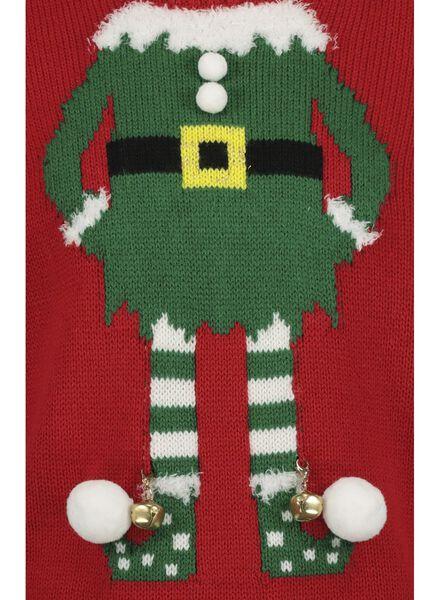 kindertrui kerst rood rood - 1000016975 - HEMA