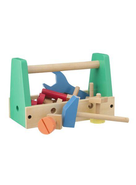 houten gereedschapskist - 15110165 - HEMA