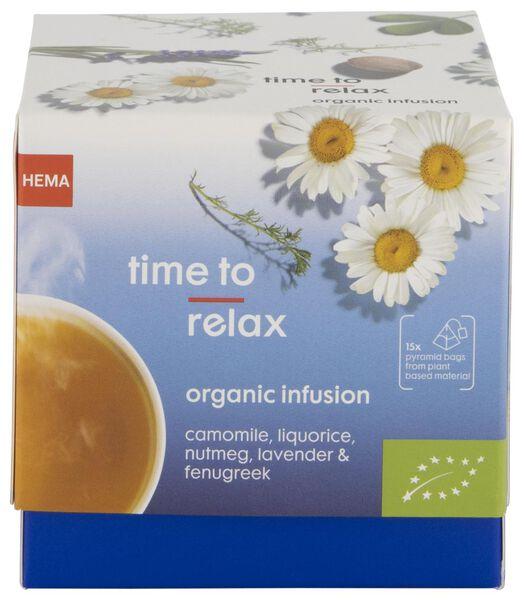HEMA Kruideninfusie Biologisch Time To Relax - 15 Stuks