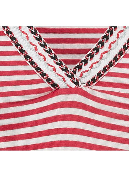 dames t-shirt rood - 1000008109 - HEMA