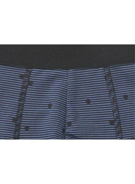 3-pak herenboxer blauw blauw - 1000011690 - HEMA