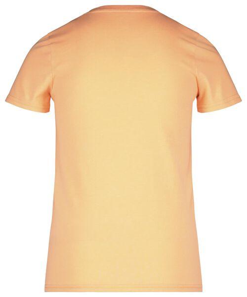 kinder t-shirt oranje 122/128 - 30769730 - HEMA