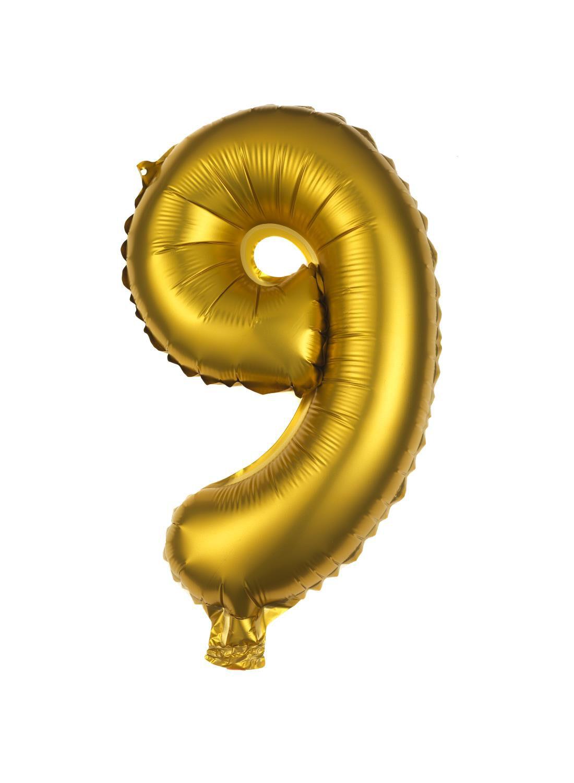 HEMA Folie Ballon 9 (goud)