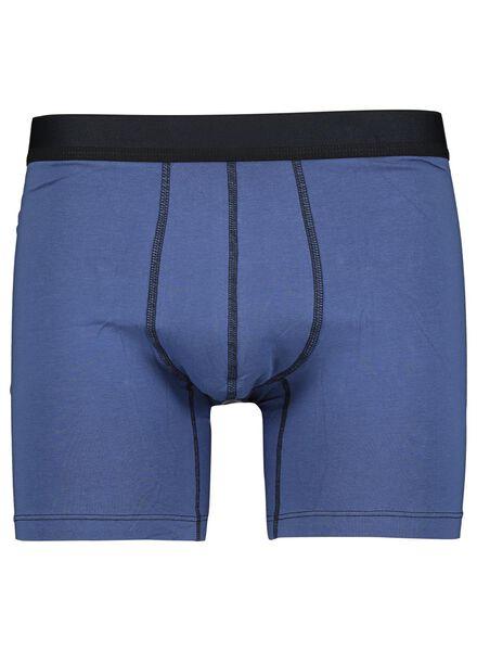 2-pak herenboxers RLC lang blauw blauw - 1000014683 - HEMA