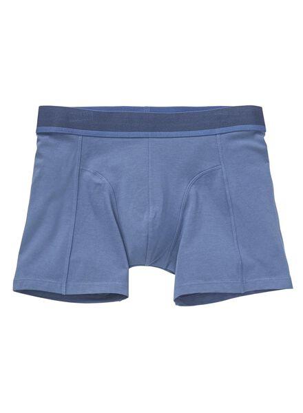 2-pak herenboxers met bamboe donkerblauw donkerblauw - 1000012129 - HEMA