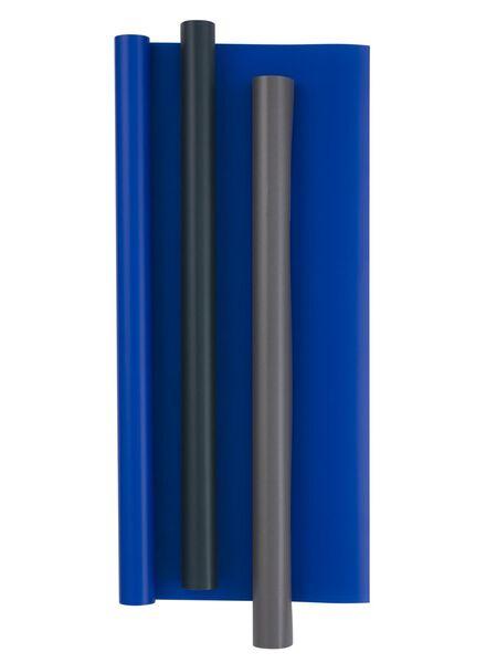 3-pak kaftpapier - grijs - 14522213 - HEMA