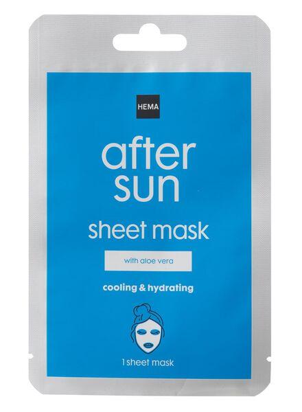 aftersun sheet masker - 11610154 - HEMA