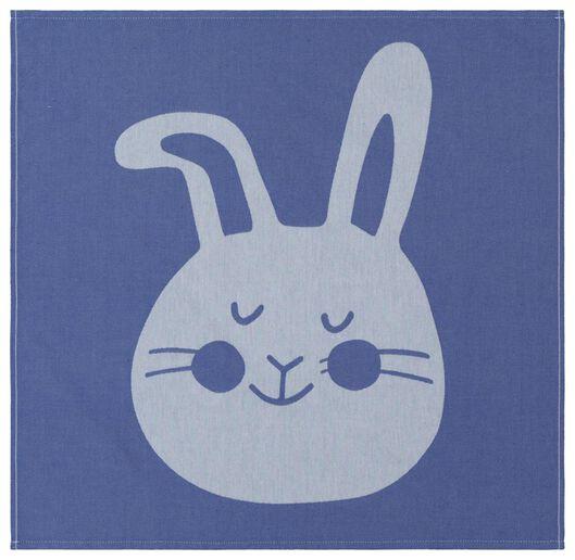 thee- en keukendoek - katoen - konijn - 2 stuks - 5400056 - HEMA