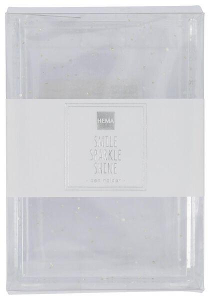 pennenbakje 7x7x10.5 zilver - 14860076 - HEMA