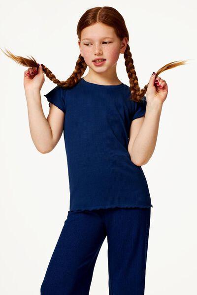 kinder culotte donkerblauw 122/128 - 30876170 - HEMA
