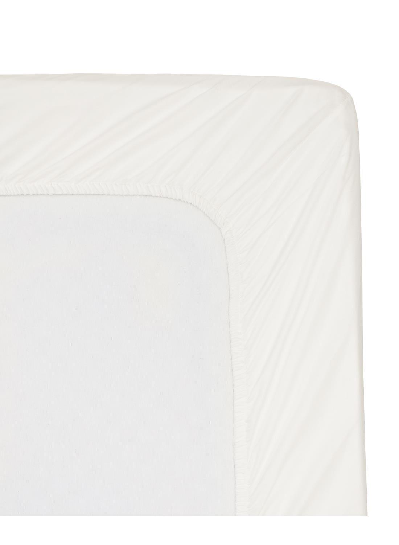 HEMA Hoeslaken - Hotel Katoen Satijn - 140 X 200 Cm - Wit (blanc)