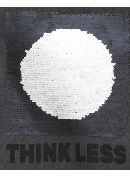 kinder t-shirt donkergrijs donkergrijs - 1000008319 - HEMA