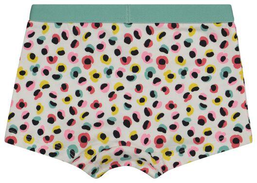 kinderboxers luipaard/streep/bloem - 3 stuks aqua 134/140 - 19360405 - HEMA