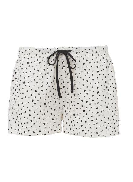 dames pyjama katoen grijsmelange grijsmelange - 1000013150 - HEMA